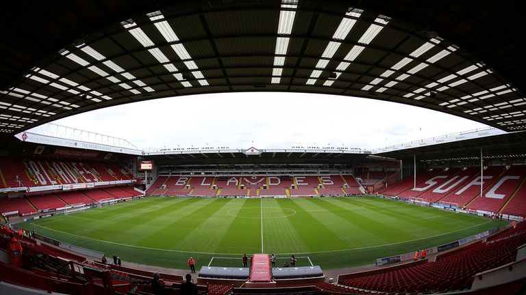 SHEFFIELD, ENGLAND - JULY 26:  General stadium view ahead of the pre season friendly match between Sheffield United and Newcastle United at Bramall Lane on