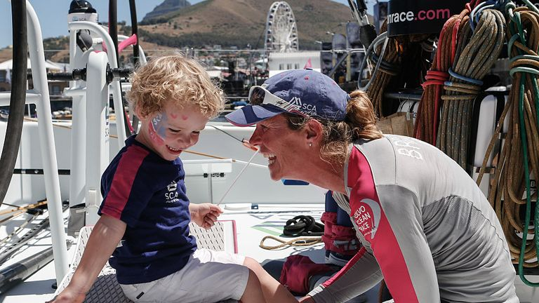 Former TSCA sailor Carolijn Brouwer will be part of the Dongfeng Race Team
