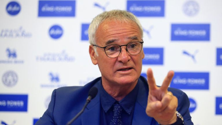 Leicester City Manager Claudio Ranieri during a press conference at the King Power Stadium, Leicester