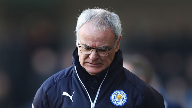 Claudio Ranieri's side are in danger of being relegated the season after winning the title