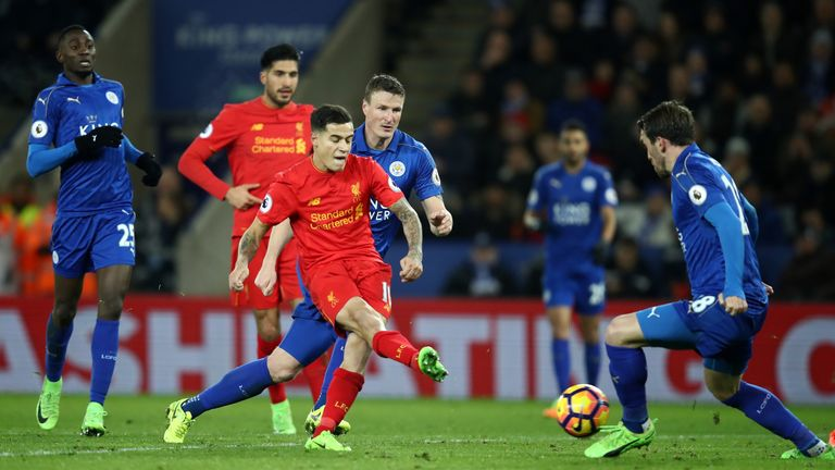 Philippe Coutinho's second-half strike was mere consolation for Liverpool