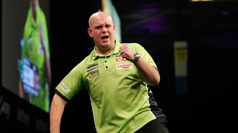 Michael van Gerwen will miss the first major of 2017 after a back injury ruled him out of the UK Open