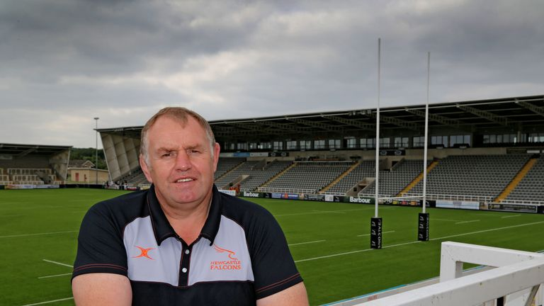 Newcastle Falcons director of rugby Dean Richards is delighted to welcome Van der Merwe to the club