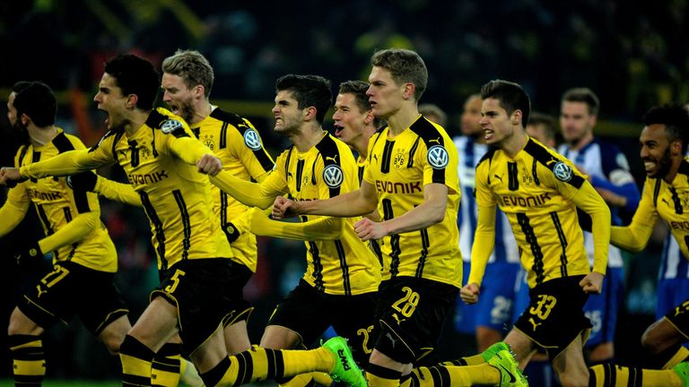 Dortmund are one of six teams yet to suffer a defeat in the Champions League this season