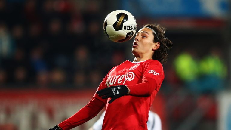 Enes Unal has been playing for FC Twente on loan from Manchester City