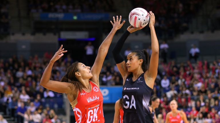 England Roses Suffer Quad Series Defeat To New Zealand In