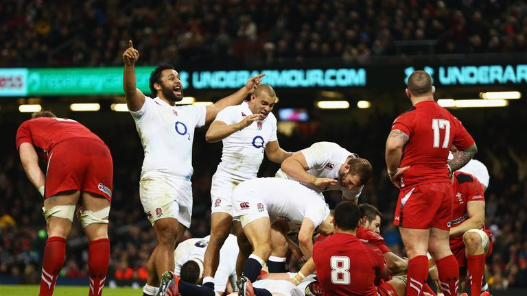 England overturned a 10-point deficit to win 21-16 in Cardiff two years ago