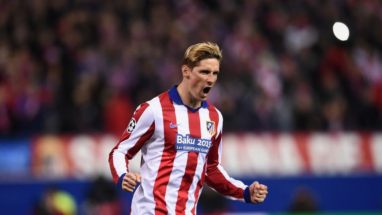 during the UEFA Champions League round of 16 match between Club Atletico de Madrid and Bayer 04 Leverkusen