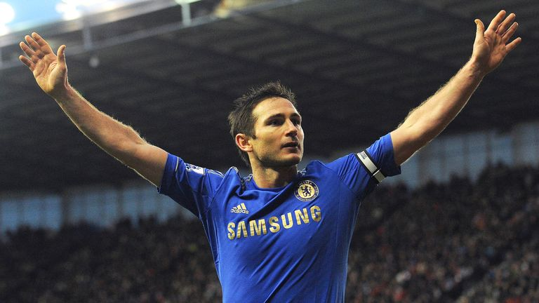 Lampard is Chelsea's all-time record goalscorer