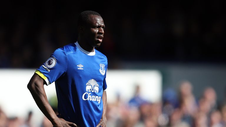 Arouna Kone has been released by Everton