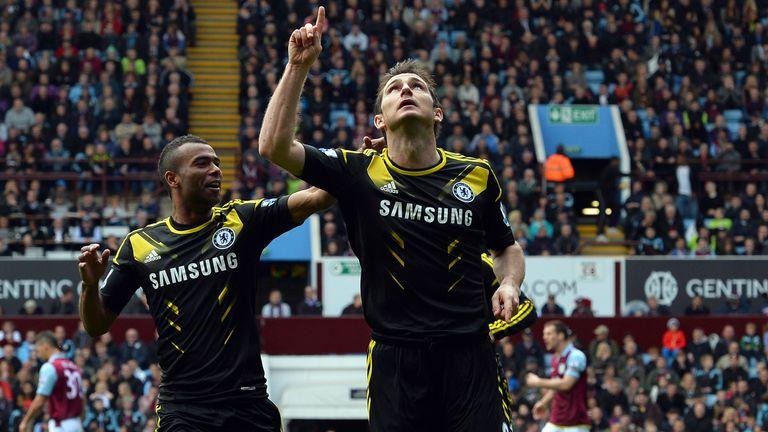 Frank Lampard eclipsed Bobby Tambling's Chelsea goalscoring record
