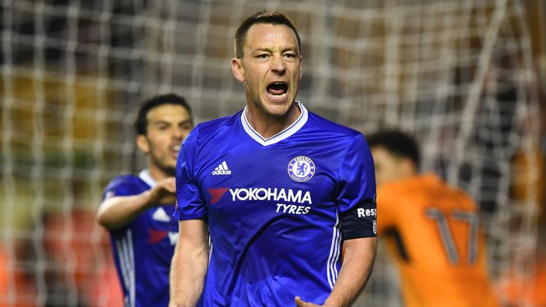 Terry has played in every round of the FA Cup so far