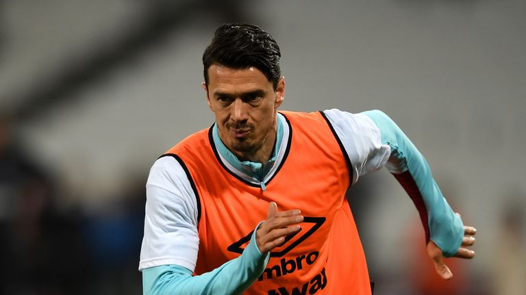 Jose Fonte is preparing to return to Southampton with West Ham