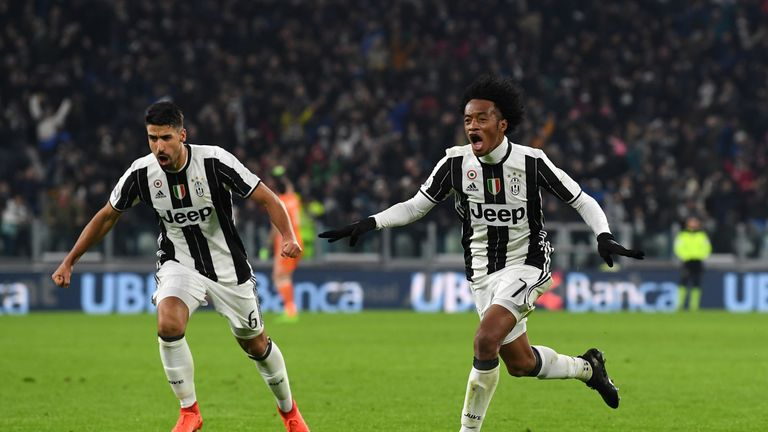 Juventus are currently on a seven-match winning streak