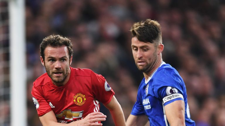 "Juan Mata says ""revenge"" is not on his mind ahead of Manchester United's trip to Chelsea on Sunday"