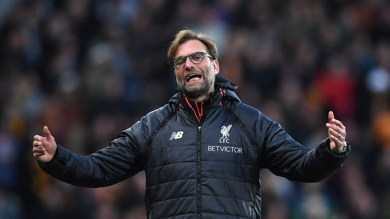 Jurgen Klopp made two changes for the Hull match
