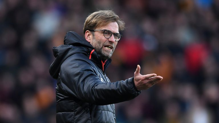 Jurgen Klopp's Liverpool face Tottenham next in the Premier League