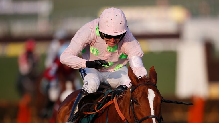 Ruby Walsh riding Limini