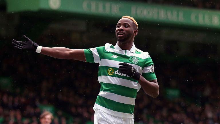 Celtic's Moussa Dembele celebrates