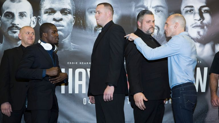 Ohara Davies and Derry Mathews had plenty to say, as usual