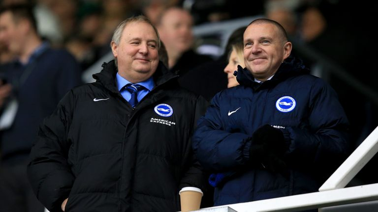 Paul Barber has become Brighton's new deputy chairman