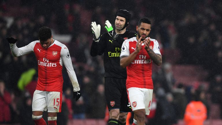 Arsenal have struggled to hold down a top-four place this season