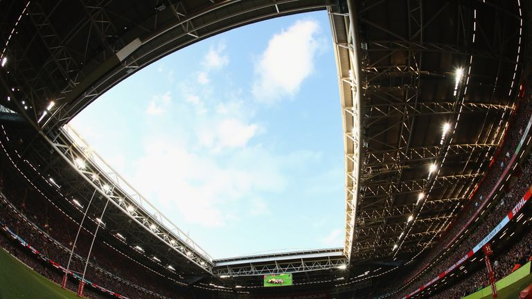 The roof will be open when Wales and England meet at the Principality Stadium