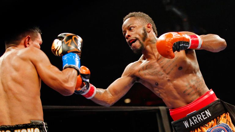 Rau'shee Warren had previously won the WBA bantamweight title with a victory over Juan Carlos Payano
