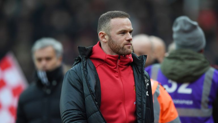 Wayne Rooney is yet to return to training due to a muscular injury, says Jose Mourinho