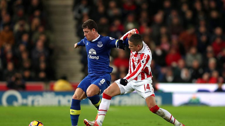 Afellay returned to action in December following eight months out