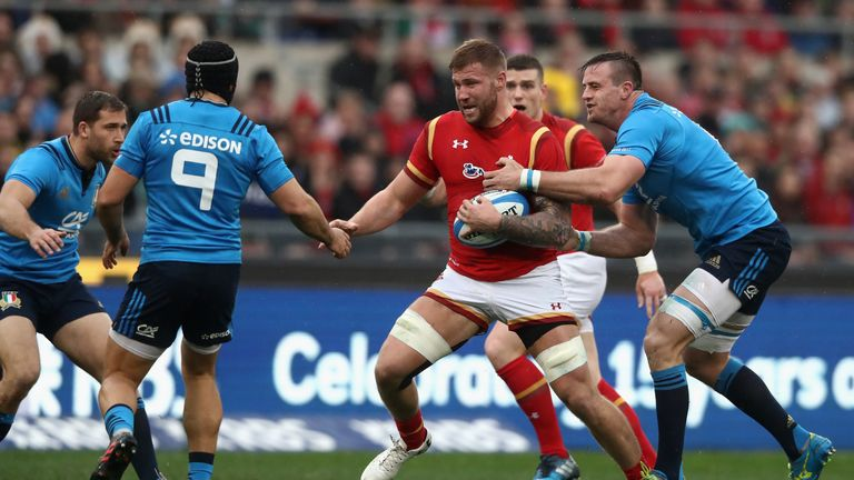 Ross Moriarty made a huge impact against Italy in Rome