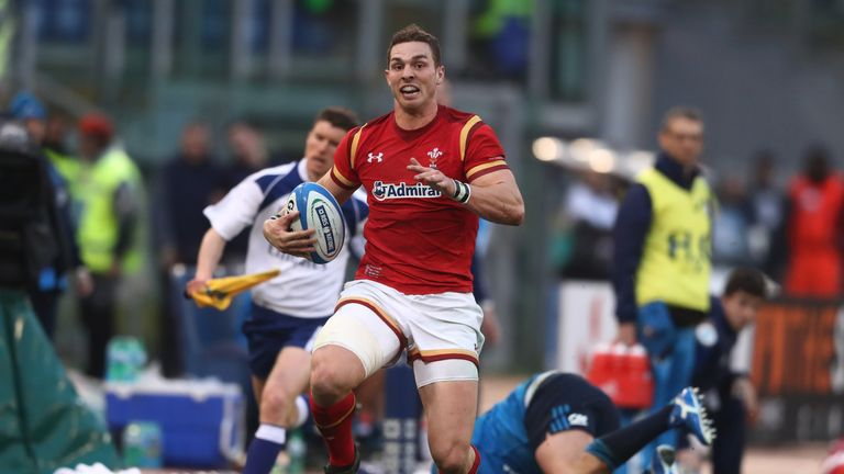 George North is back in the Wales team