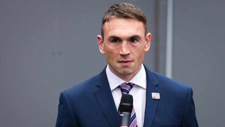 RFL rugby director Kevin Sinfield