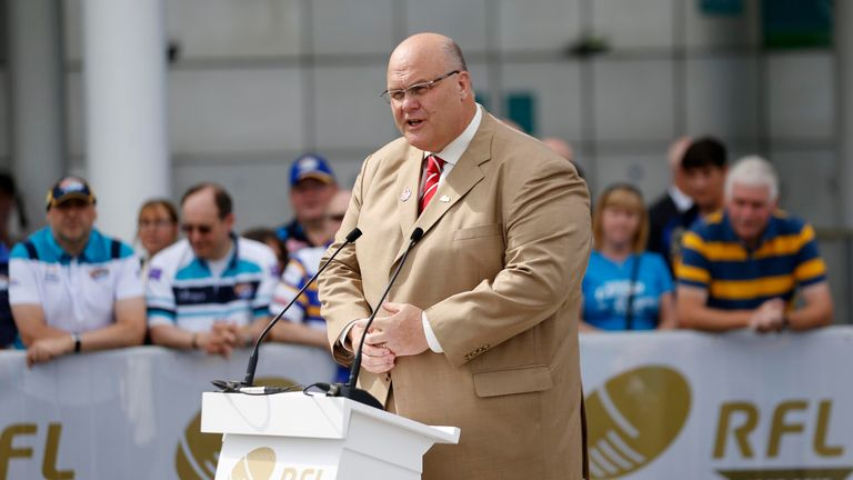 Nigel Wood has served on the RFL board since 2001
