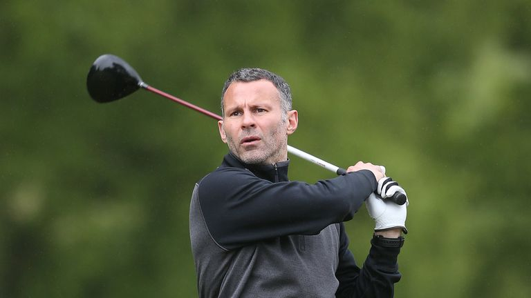 Ryan Giggs will make his debut in the BMW PGA Championship Pro-Am