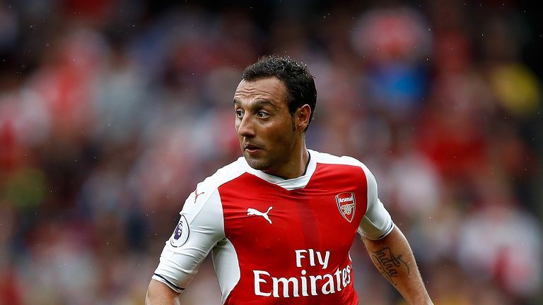 Santi Cazorla has been ruled out for the rest of the season