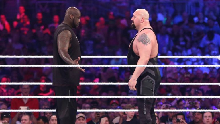 There has been talk about a match between ex-NBA star Shaquille O'Neal and Big Show for some time