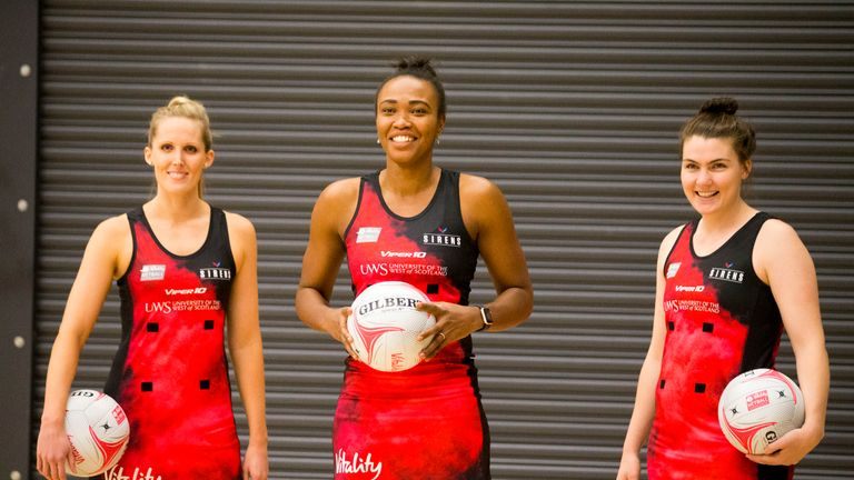 Sirens start their Superleague life against Wasps on Tuesday night in front of 5,000 fans (Picture: Jeff Holmes)