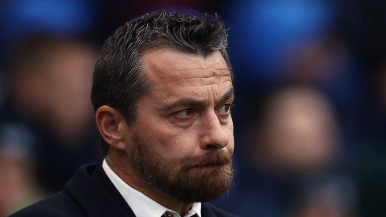 BRIGHTON, ENGLAND - NOVEMBER 26:  Fulham Head Coach Slavisa Jokanovic looks on prior to the Sky Bet Championship match between Brighton & Hove Albion and F