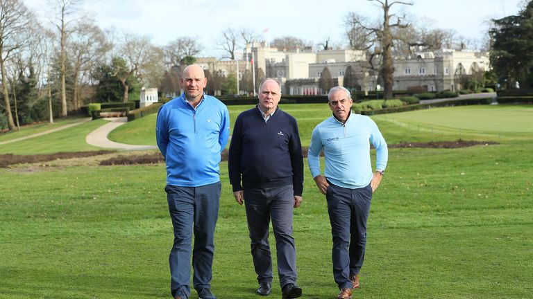 Thomas Bjorn, Kenny Mackay and Paul McGinley were on the design team that oversaw the renovations