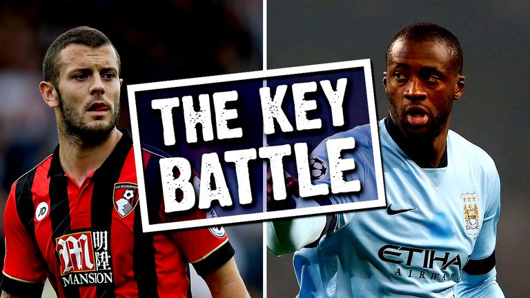 Jack Wilshere will come up against Yaya Toure in midfield on Monday Night Football