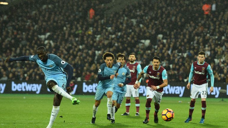 Toure has impressed since returning to Pep Guardiola's plans