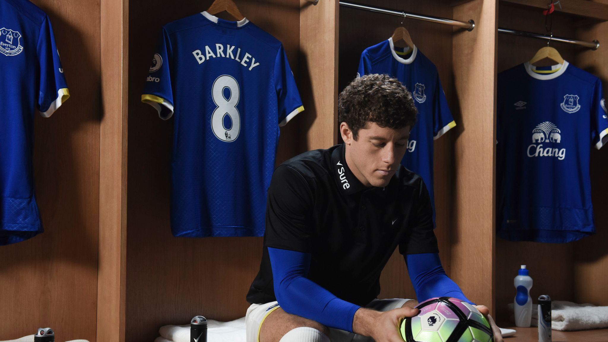 buy popular 3637b cce55 Ross Barkley interview: Everton man talks Tom Davies and ...