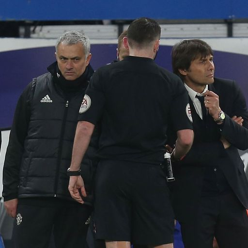 Mourinho v Conte: The war of words