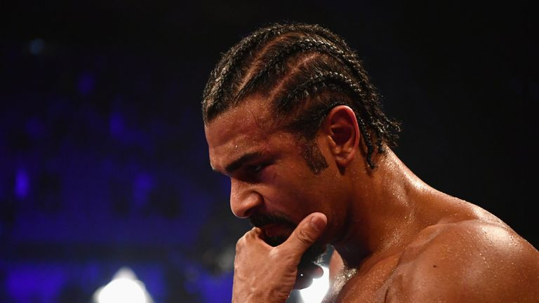 The 37-year-old Haye has been hampered by fitness problems in recent years