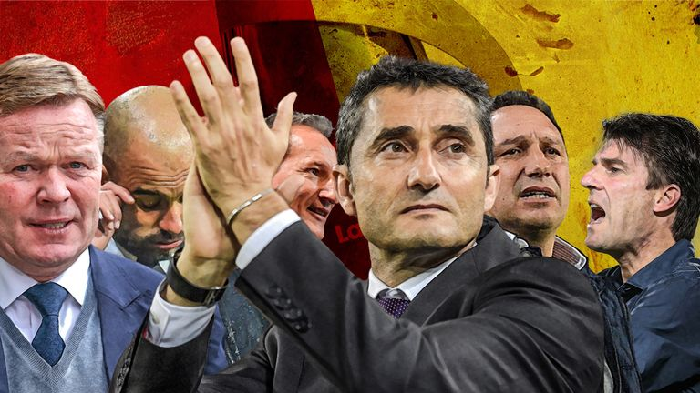 Ernesto Valverde is steeped in the traditions of Johan Cruyff's Barcelona