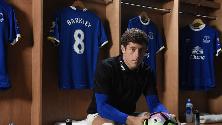 Ross Barkley is an ambassador for Sure, official partner of Everton FC.