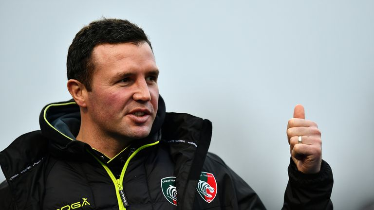 Aaron Mauger will be missed by the Leicester players
