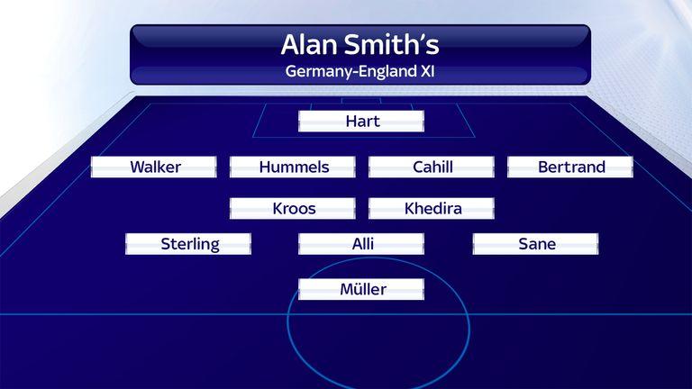 Alan Smith's Germany-England XI