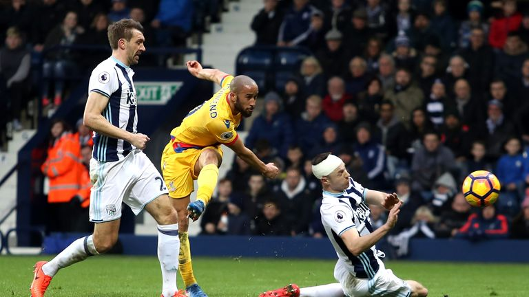 Andros Townsend delivered a reminder of his skills in Crystal Palace's win at West Brom